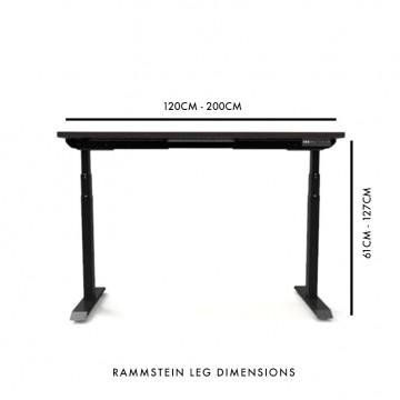 Rammstein Adjustable Table (Walnut)