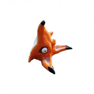 Fox Head Ring Holder