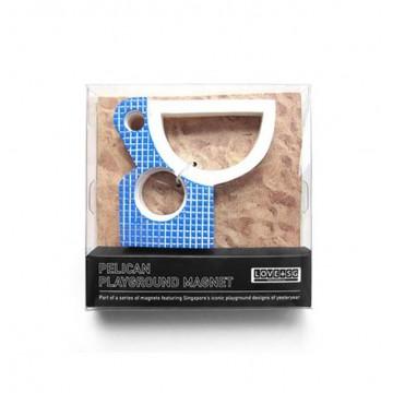 Pelican Playground Magnet