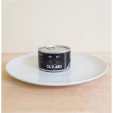 Canned Food Clock: Seafood & Vegetables Cat Food
