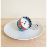 Canned Food Clock: Pork Luncheon Meat