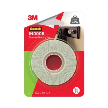 Scotch™ Indoor Mounting Tape 12mm