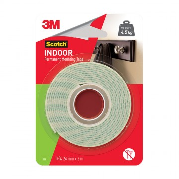 Scotch™ Indoor Mounting Tape 24mm