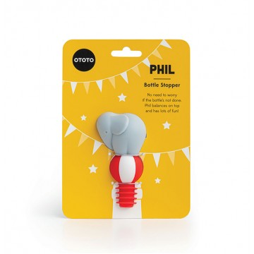 Phil - Silicone Bottle Stopper
