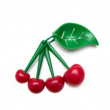 Mon Cherry - Measuring Spoons & Egg Seperator