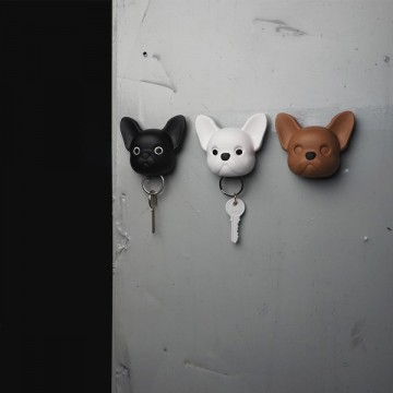 Frenchie French Bulldog Key Holder