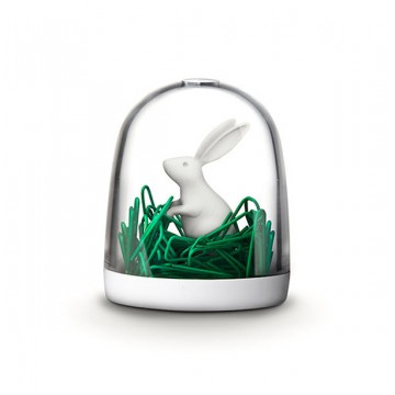 Bunny Paper Clip Holder