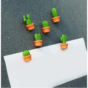 Cactus Magnet Set