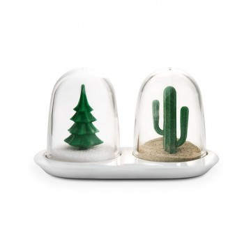 Winter Summer Salt and Pepper Shaker