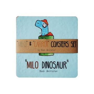 Milo & Carrot Coaster Set