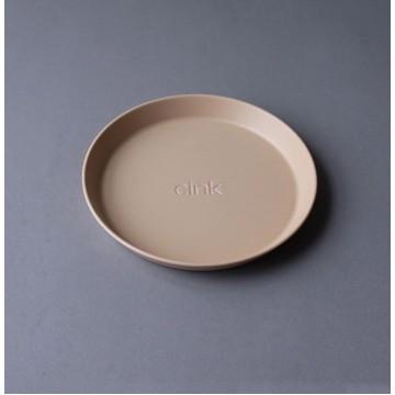 Kids Bamboo Plate 3-pack: Fog/Rye/Brick