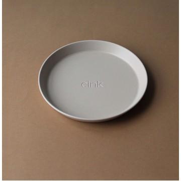 Kids Bamboo Plate 3-pack: Fog/Beet/Ocean