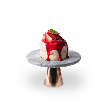 Xenia - Marble Cake Stand