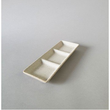 3 Section Condiment Dish