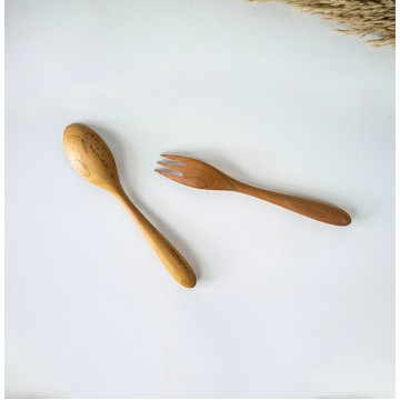 Teak Wood Handmade Cutlery Set