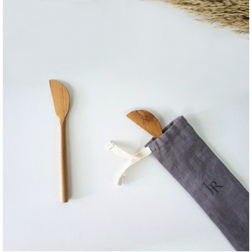 Teak Wood Handmade Butter Knives (2 pieces)
