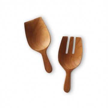 Teak Wood Handmade Salad Hands