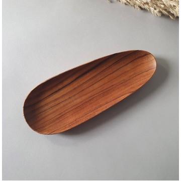 Teak Wood Handmade Almond Plates