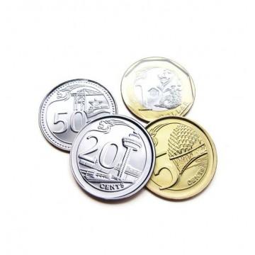 Coins Coaster Set