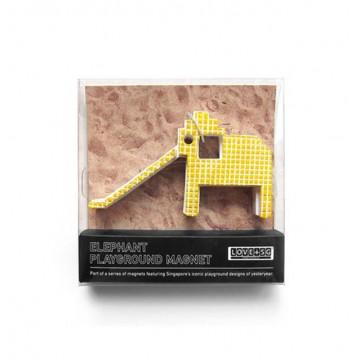 Elephant Playground Magnet