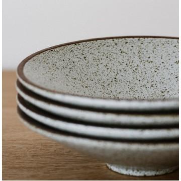 Matte Hiragana (Wide Low Bowl)