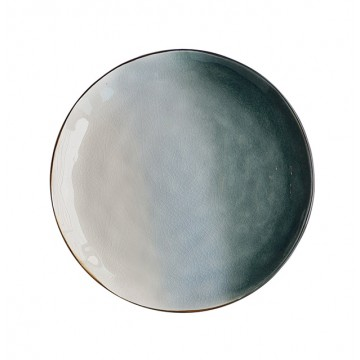 Tie Dye Poolside Plate