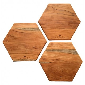 Honeycomb Teak Board