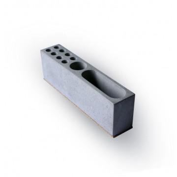 Concrete Desk Organizer
