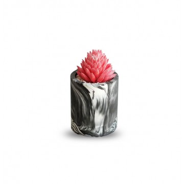 Mini Planter (Black Marble)