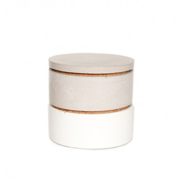 Stacking Concrete Salt Cellar (Set)