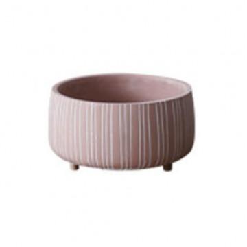 Pink Succulent Bowl