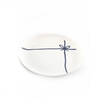 Of Triangles & Ribbons Plate