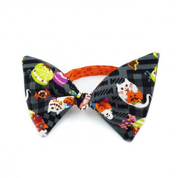 Halloween Butterfly Bow Cat Collar