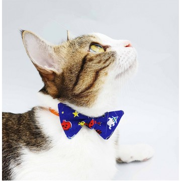 Spidey Candy Bow Cat Collar