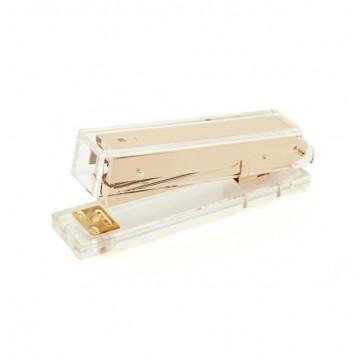 Acrylic Gold Stapler