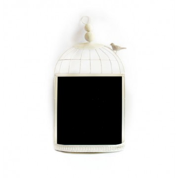 Rustic Bird Cage Chalk Board