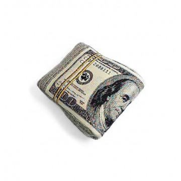 U.S Dollar Knit Cushion