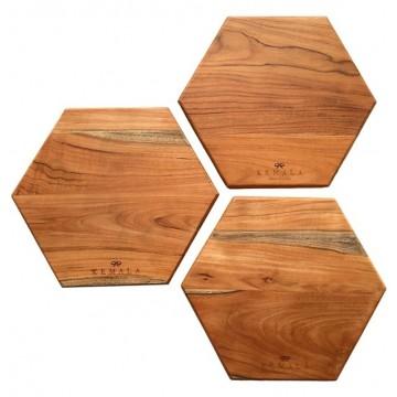 Honeycomb Teak Board