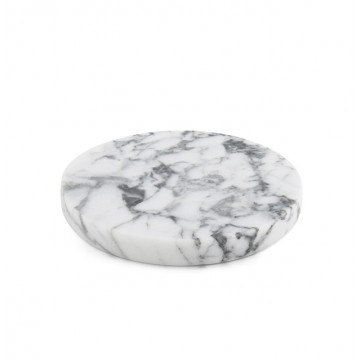 Round Marble Coasters (Set of 4)