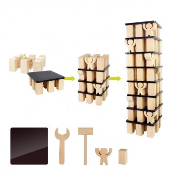 Mission Impossible Wooden Balancing Game