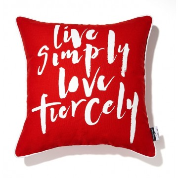 Live Simply, Love Fiercely