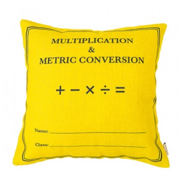 Multiplication & Metric Conversion Book