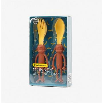Monkey Spoon & Fork Set