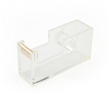 Acrylic Gold Tape Dispenser