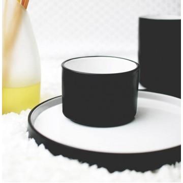 Black Onyx Short Tea Cup