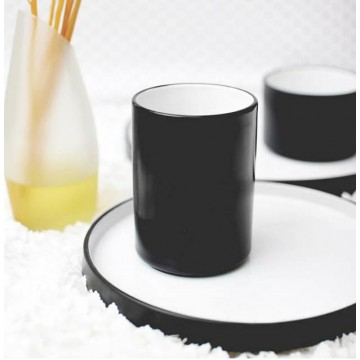Black Onyx Tall Drinking Cup