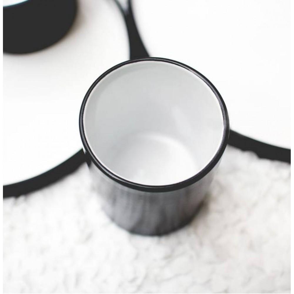 Black Onyx Tall Drinking Cup