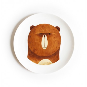 The Honey Bear Dining Plate