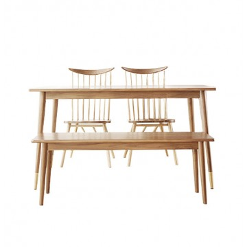 Dining Set - Francis Table (2 chairs + 1 bench)