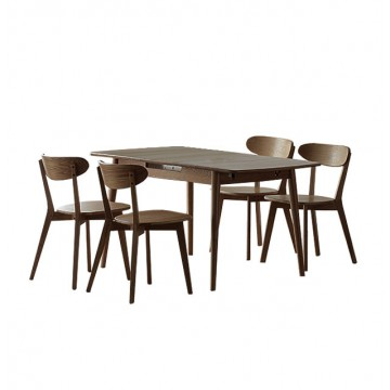 Dining Set - Jordi Table + 4 Thom Chair